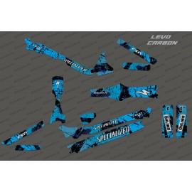 Kit deco Pinzell Edició Completa (de color Blau) - Especialitzada Levo de Carboni -idgrafix