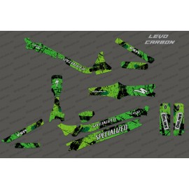Kit deco Brush Edition Full (Green) - Specialized Levo Carbon-idgrafix