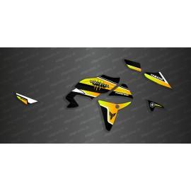 Kit dekor Monster Edition (Gelb) - Yamaha MT07 Tracer -idgrafix