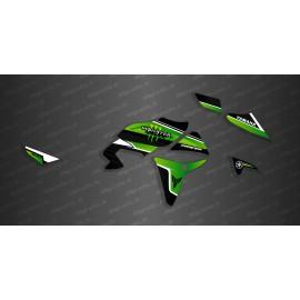 Kit décoration Monster Edition (Green) - Yamaha MT07 Tracer - IDgrafix