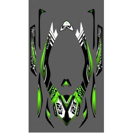Kit dekor 100% - Def Monster LTD Full für Kawasaki Ultra 300/310R -idgrafix