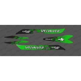 Kit deco Levo Edizione della Luce (Verde) - Specializzata Levo Carbonio -idgrafix