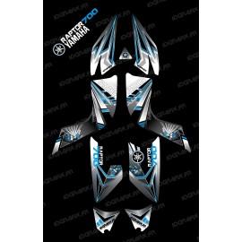 Kit de decoración de Flash Azul - IDgrafix - Yamaha Raptor 700