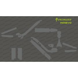 Kit Adesivo Protezione Completa (Lucido o Opaco)) - Specializzata KENEVO -idgrafix
