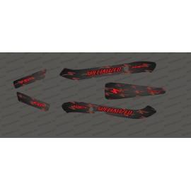 Kit deco Carboni Edició de la Llum (Vermell) - Especialitzada Kenevo -idgrafix