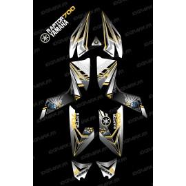 Kit décoration Flash Jaune - IDgrafix - Yamaha 700 Raptor