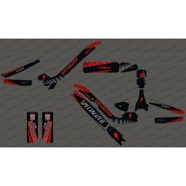 Kit déco GP Edition Full (Rouge) - Specialized Kenevo-idgrafix