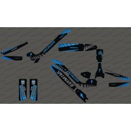 Kit déco GP Edition Full (Bleu) - Specialized Kenevo