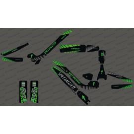 Kit deco GP Edizione Completa (Verde) - Specializzata Kenevo -idgrafix