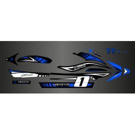 Kit deco 100% perso Monster Bleu- Yamaha FX (1er génération)-idgrafix