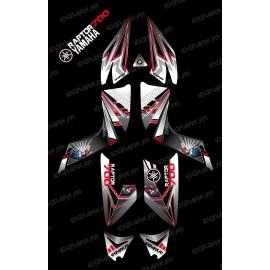 Kit décoration Flash Rouge - IDgrafix - Yamaha 700 Raptor
