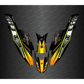 Kit decoration 100% Custom DC (Yellow) for Kawasaki SXR 1500 - IDgrafix