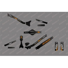 Kit déco 100% Perso Monster Edition Full (Orange) - Specialized Levo Carbon-idgrafix