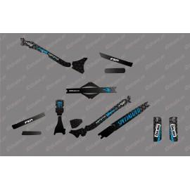 Kit déco 100% Perso Monster Edition Full (Bleu) - Specialized Levo Carbon-idgrafix