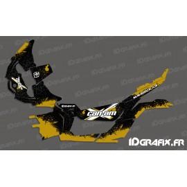 Kit dekor Splash Series (Gold) - Idgrafix - Can Am Maverick X3 -idgrafix