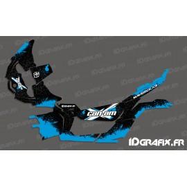 Kit decoration Splash Series (Blue) - Idgrafix - Can Am Maverick X3 - IDgrafix