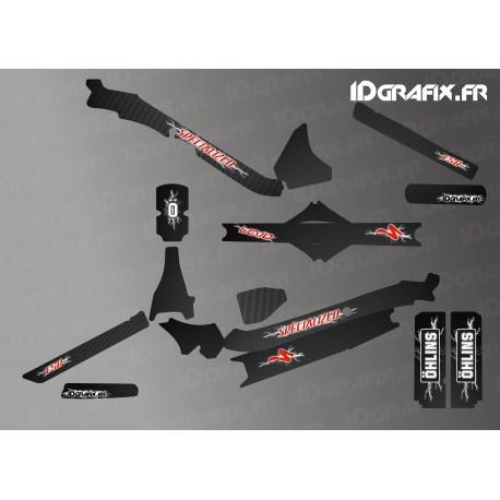 Kit déco Electrik Edition Full (Rouge) - Specialized Levo Carbon-idgrafix