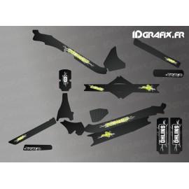 Kit deco Electrik Edizione Completa (Giallo) - Specializzata Levo Carbonio -idgrafix