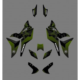 Kit décoration Camo Edition (Vert) - Yamaha MT-09 Tracer-idgrafix