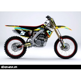 Kit déco Réplica series pour Suzuki RM/RMZ-idgrafix