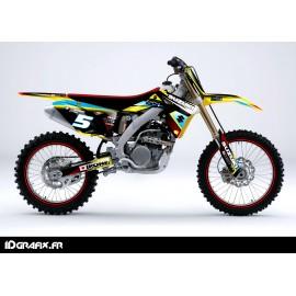 Kit deco Réplica de la serie para Suzuki RM/RMZ -idgrafix