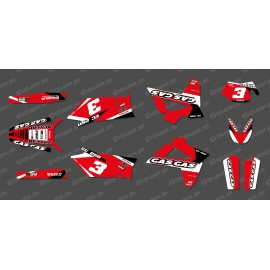 Kit deco Red Edition for Gas Gas EC - IDgrafix
