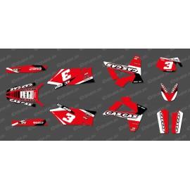 Kit deco Red Edition per Gas Gas EC -idgrafix