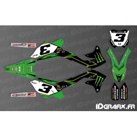Kit deco Eli Tomac 2017 Replica for Kawasaki KX/KXF - IDgrafix