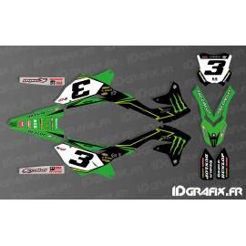 Kit deco Eli Tomac 2017 Replica for Kawasaki KX/KXF - IDgrafix