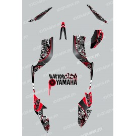 Kit décoration Tag Rouge - IDgrafix - Yamaha 250 Raptor