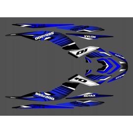 Kit décoration Factory Bleu pour Seadoo GTR-X 230-idgrafix