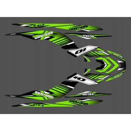 Kit decoration Factory Green for Seadoo GTR-X 230 - IDgrafix