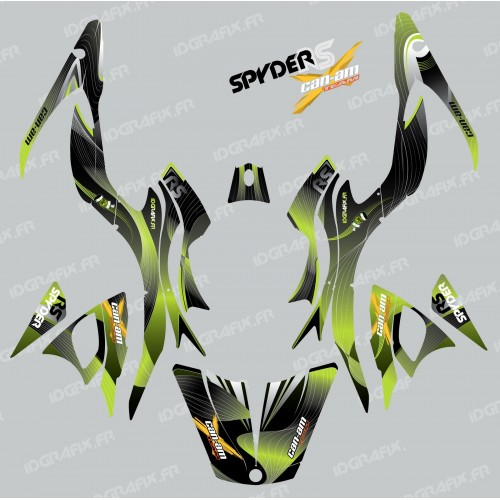 Kit de decoración de Forro Verde - IDgrafix - Can Am Spyder RS