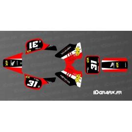 Kit dekor 100% - Def Monster Edition Full (Rot) - IDgrafix - Honda QR 50 -idgrafix