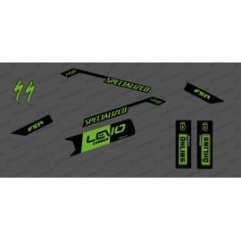 Kit déco Race Edition Medio (Verde) - Specializzata Levo Carbonio -idgrafix