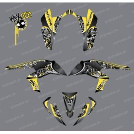 Kit décoration Reptile Vert - IDgrafix - Kawasaki KFX 450R