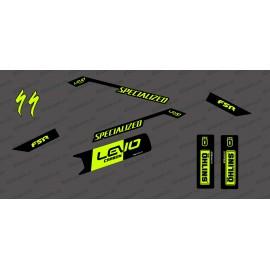 Kit déco Race Edition Medium (Yellow FLUO) - Specialized Levo Carbon - IDgrafix