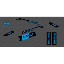 Kit de decoracion Race Edition Medio (Azul) - Especializado Levo -idgrafix