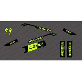 Kit déco Race Edition Medium (Yellow Fluo) - Specialized Levo-idgrafix