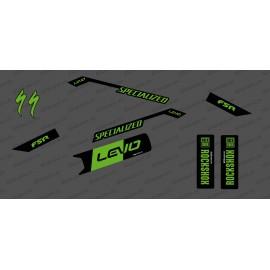 Kit déco Race Edition Medium (Green) - Specialized Levo - IDgrafix