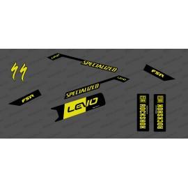 Kit déco Race Edition Medium (Yellow) - Specialized Levo - IDgrafix