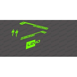 Kit déco RaceCut Light (Vert FLUO)- Specialized Turbo Levo-idgrafix