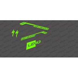 Kit deco RaceCut Llum de NEÓ Verd)- Especialitzada Turbo Levo -idgrafix