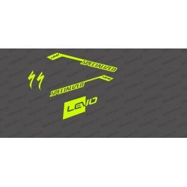 Kit deco RaceCut Llum FLUORESCENT Groc)- Especialitzada Turbo Levo -idgrafix