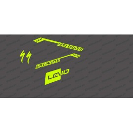 Kit deco RaceCut Luce (Giallo FLUORESCENTE)- Specialized Turbo Levo -idgrafix