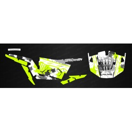 Kit decoration MonsterRace Green /White - IDgrafix - Polaris RZR 1000 S/XP-idgrafix