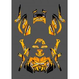 Kit de décoration Monster Edition (Amarillo) - IDgrafix - Can Am Outlander G2 -idgrafix