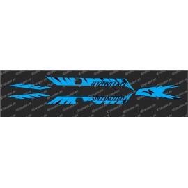 Kit deco Edizione di Fabbrica della Luce (Blu)- Specialized Turbo Levo -idgrafix