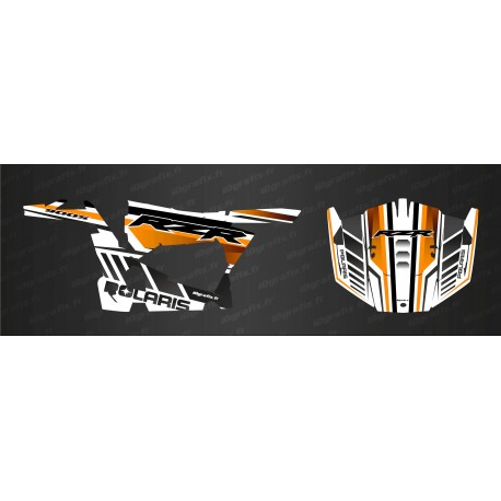 Kit decoration Blade Edition (Orange/White) - IDgrafix - Polaris RZR 900 - IDgrafix