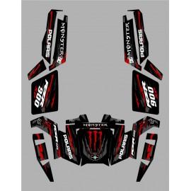 Kit andalusa Monster Race Edition - IDgrafix - Polaris RZR 900 XP -idgrafix